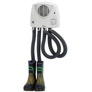 ST12T Analog Footwear Boot Dryer Shoe Heater 220W Wall Mountable 1