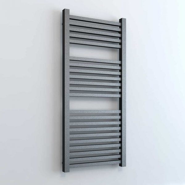 """Sirius"" Thermostatic Electric Timed Square Tube Bathroom Electric Heated Towel Rail Radiator"