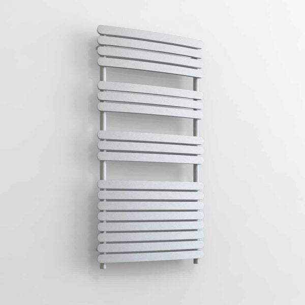 """Vega"" Central Heating Designer Flat Bar Bathroom Heated Towel Rail Radiator"