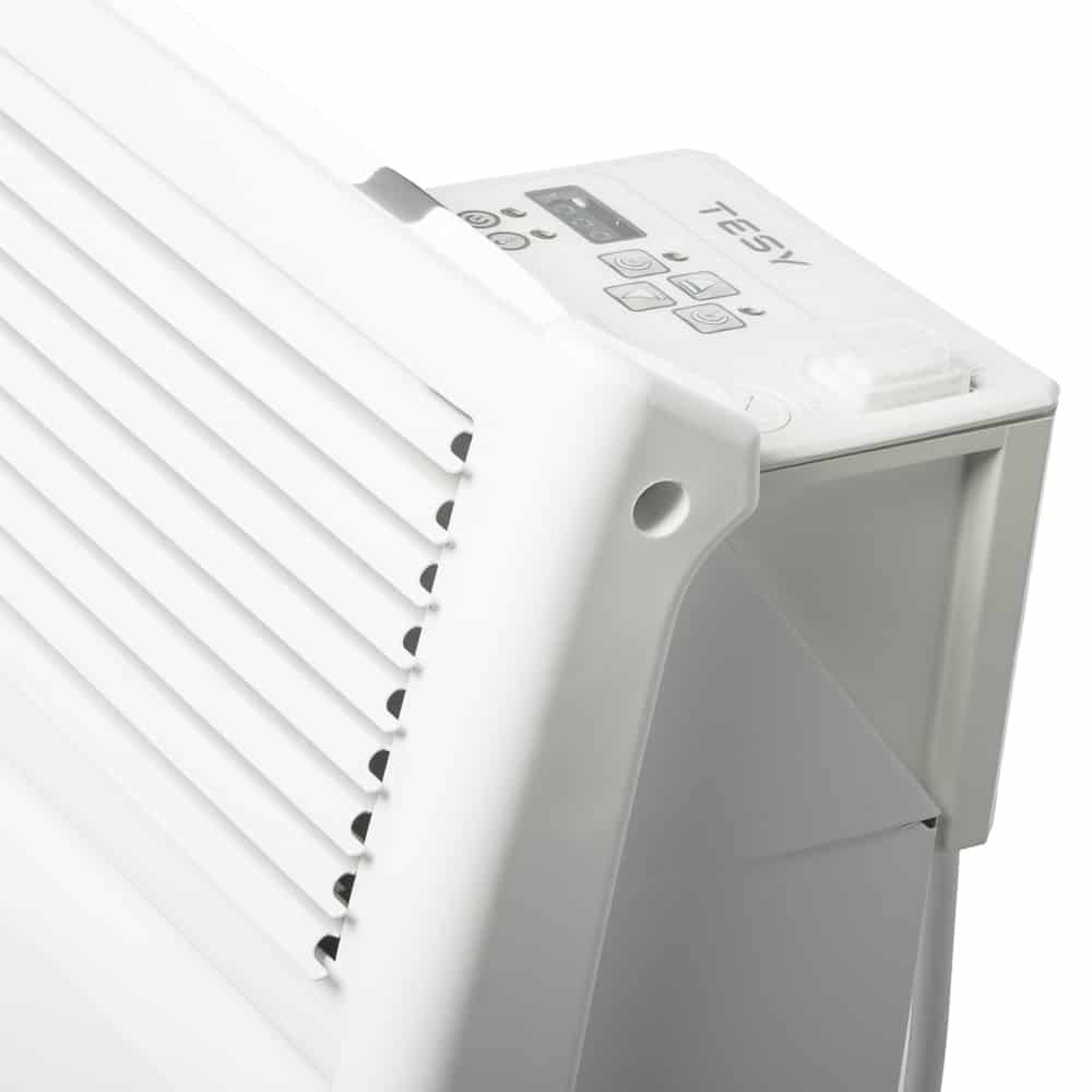 Wall Mounted Tesy CN024 Electric Panel Heater // Convector Timer Splash Proof