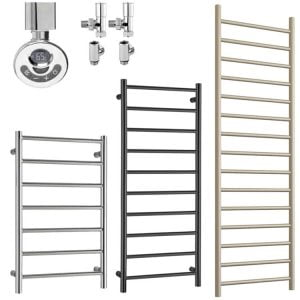 Dual Fuel Thermostatic Towel Rails