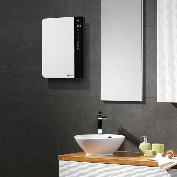 Radialight Windy Electric Bathroom Fan Heater + Hated Towel Rail, 1800W
