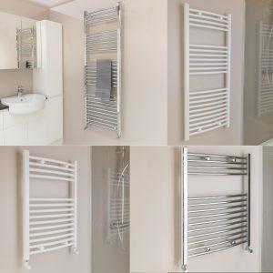 Qual-Rad Heated Towel Rail / Warmer / Radiator - Central Heating