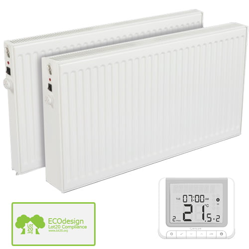 Wall Mounted Oil Filled Radiator >> Huber Oil Filled Electric Radiator Wall Mounted Wireless