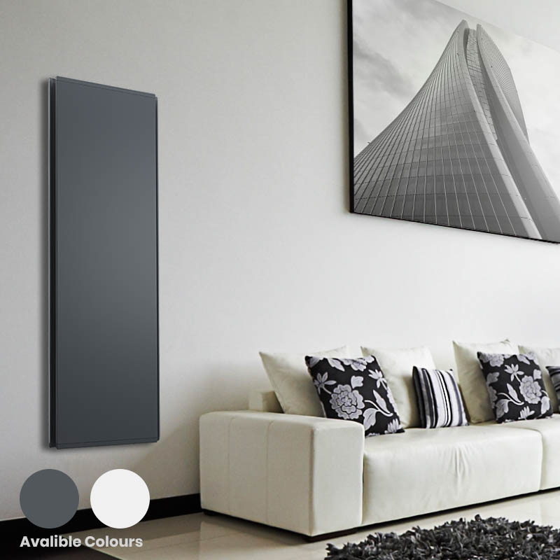 Radialight Icon Vertical Electric Heater, WiFi, Wall Mounted, Made In Italy