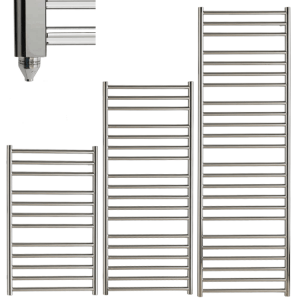 Barden Stainless Steel Modern Towel Warmer / Heated Towel Rail - Electric